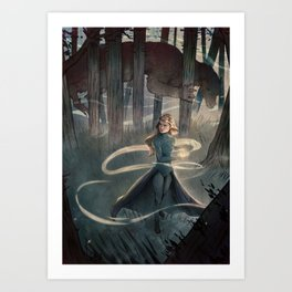 The Flame Keeper Art Print