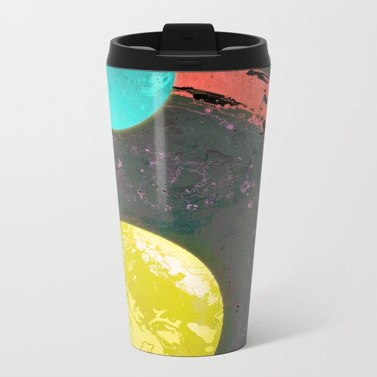 Dust 05 - Post Biological Universe Metal Travel Mug