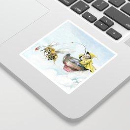 Bee Boating Sticker
