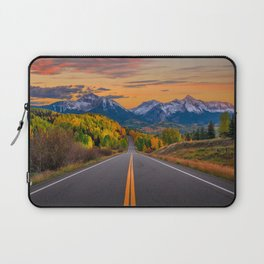 The Road To Telluride Laptop Sleeve