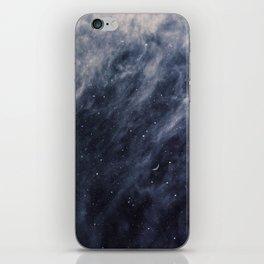 Blue Clouds, Blue Moon iPhone Skin