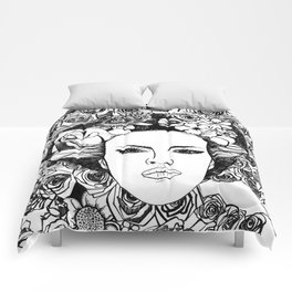 """PHOENIX AND THE FLOWER GIRL """"STEP BY STEP MOVING"""" SINGLE PRINT Comforters"""
