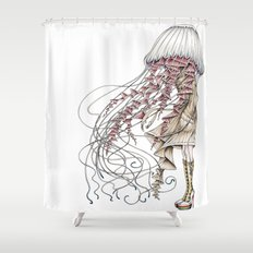 Shroom me up, Jelly Shower Curtain