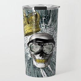 Skull Storm Travel Mug