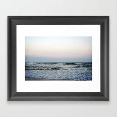 Folly Beach, South Carolina Framed Art Print
