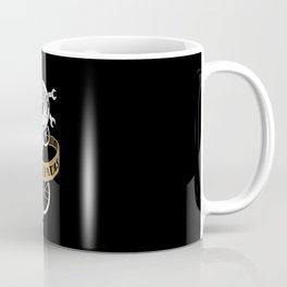 Detroit Cyclepaths Black Coffee Mug