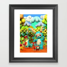 Zupo's Quest Framed Art Print