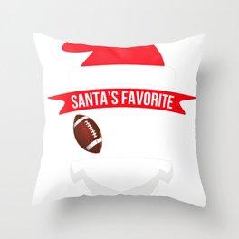 santafave coach football Throw Pillow