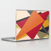 arrows Laptop & iPad Skins featuring Arrows by Robert Cooper