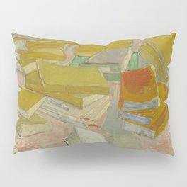 "Vincent Van Gogh "" Piles of French novels"" Pillow Sham"