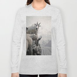 Hi, we are the mountain goats Long Sleeve T-shirt