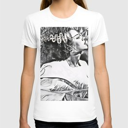 The Bride in Pen and Ink T-shirt