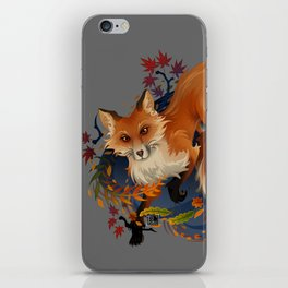 Sly Fox Spirit Animal iPhone Skin