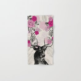 The Stag and Roses Hand & Bath Towel