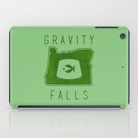 gravity falls iPad Cases featuring Gravity Falls - Grunkle Stan's Fez (Green) by pondlifeforme