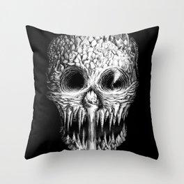 Skullunker Throw Pillow