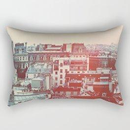 Paris Revisited Rectangular Pillow