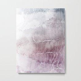 Finee Finese Mauvelous Metal Print
