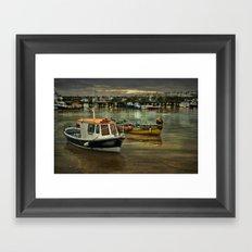 Harbour Reflections Framed Art Print