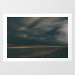 The Night Sky Art Print