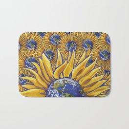 Sunflower Earth Bath Mat
