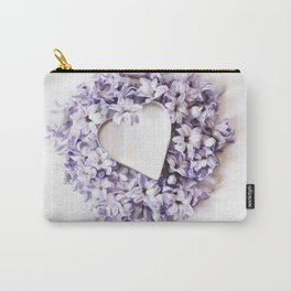 Hyacnth Heart Carry-All Pouch