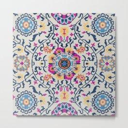 Oriental Carpet Artwork Metal Print