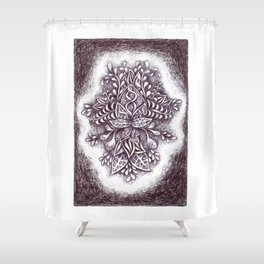 Imaginary Botany Shower Curtain