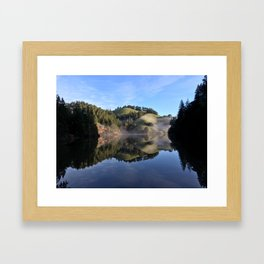 Perfection Reflection Framed Art Print