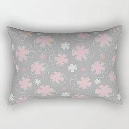 Asterisk Flowers Rectangular Pillow