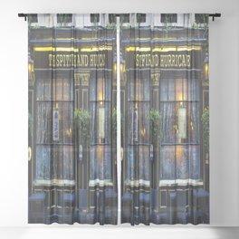 Spitfire And Hurricane Pub Sheer Curtain