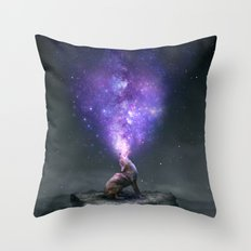 All Things Share the Same Breath Throw Pillow