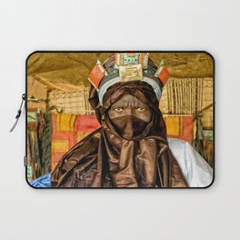 Tuareg elder, Timbuktu, Mali Laptop Sleeve