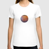 basketball T-shirts featuring Basketball by gbcimages