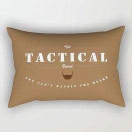 Tactical Beard Rectangular Pillow
