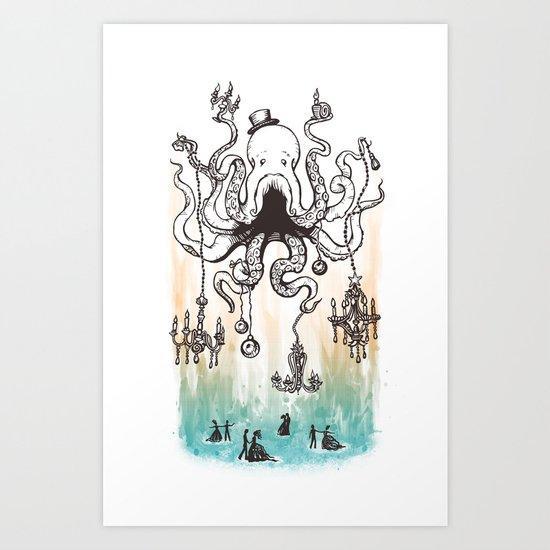 Octoluminary Art Print