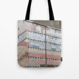 Architectural Detail Wall, Salvage, Old building, Chicago Tote Bag