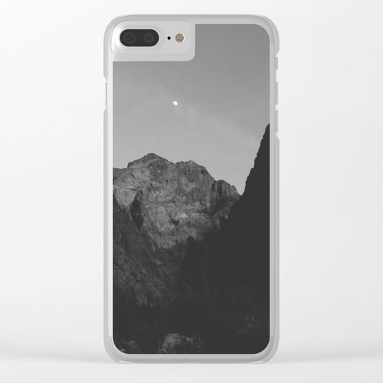 Palm Canyon Clear iPhone Case