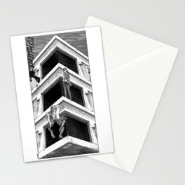 asc 977 - Le Motel Nirvana (The place where sheets never cool) Stationery Cards