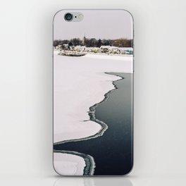 Frozen Ottawa River iPhone Skin
