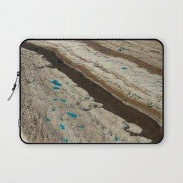 ALASKA III: Ruth Glacier Textures Laptop Sleeve
