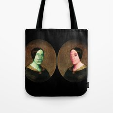 The Vitruvian Sisters (collage) Tote Bag
