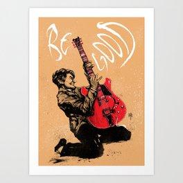Johnny B. Goode Art Print