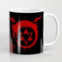 fullmetal Mugs featuring Ouroboros by KanaHyde