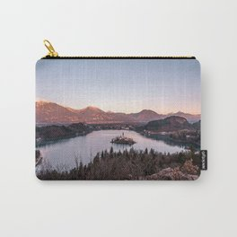 Sunset at Lake Bled, Slovenia Carry-All Pouch