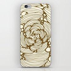gold iPhone & iPod Skin