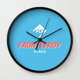 Fauntleroy Place Wall Clock