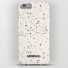 Retro Speckle Print - Bone iPhone 6s Plus Slim Case