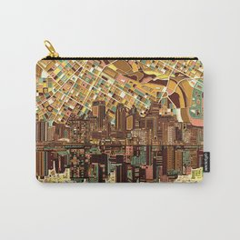 minneapolis city skyline Carry-All Pouch
