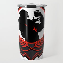 monk with a beer Travel Mug